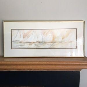 Artist Barb J Gronstal Framer Watercolor Painting